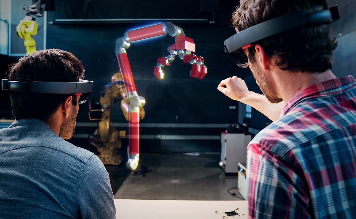 Autodesk and Microsoft Explore Holographic Design